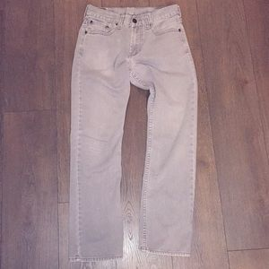 Men's Bullhead Gray Jeans